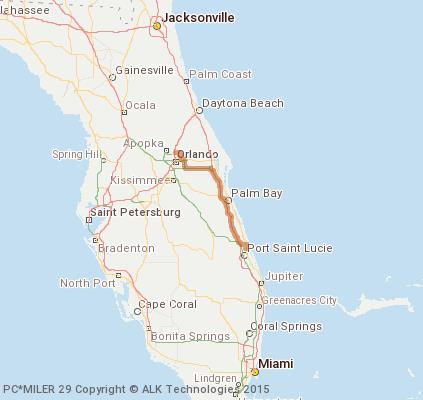 Cost To Ship 2000 Ultra JackHammer From Fort Pierce To - Fort Pierce To Jupiter Map Us 1
