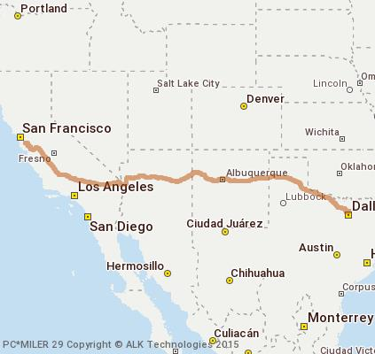 Cost to Ship - Ship Car fron San Jose To Dallas Tx - from Sunnyvale ...